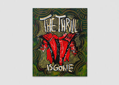 Vernon O'Meally, 'The Thrill is Gone', 2018