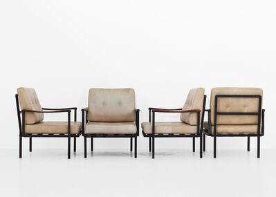 Osvaldo Borsani, 'Set of four P24 armchairs by Osvaldo Borsani', 1961