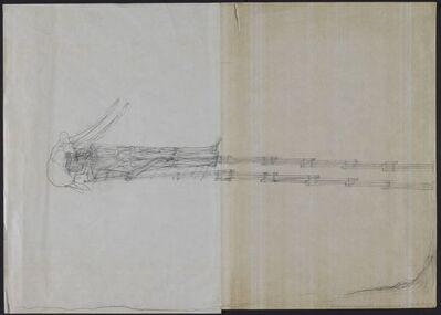Walter Pichler, 'Der Tod des Elephantentöters (Hinubergereicht)', 1973