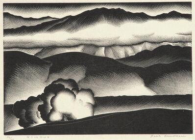 Paul Landacre, 'Nimbus', 1934