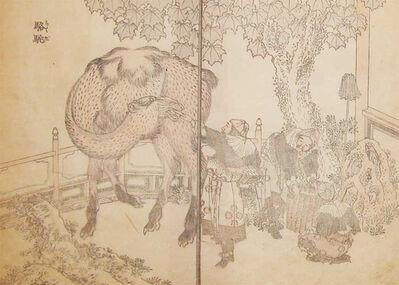 Katsushika Hokusai, 'Camel', ca. 1845