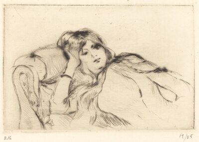 Berthe Morisot, 'Rest', 1888/1890