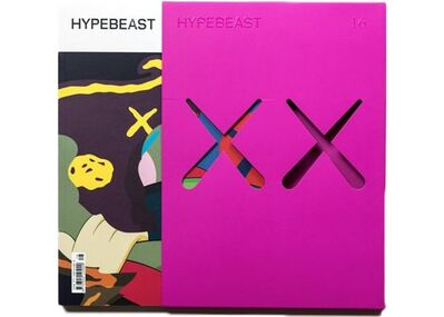 KAWS X Hypebeast, 'Issue 16: The protection Issue (Pink)', 2016