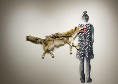 Marc Séguin, 'Roadkill Coyote', 2010