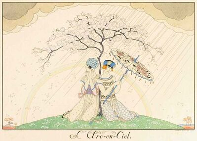 Georges Barbier, 'L'arc-en-ciel', 1920