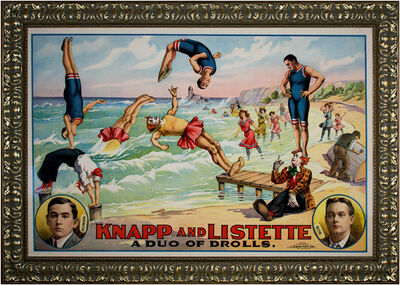 Unknown Artist, 'Knapp & Listette: A Duo of Drolls', 1895