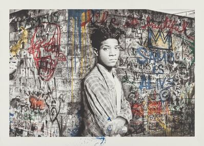 Mr. Brainwash, 'Samo is alive (Basquiat)', 2016