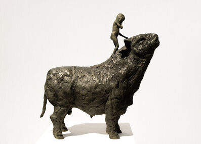 Beth Carter, 'Girl and Bull'