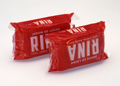 """Christopher Williams, 'Rina, Jabon De Lavar, """"Lava, Limpia, Dura Mas"""", 200 gr., Douglas M. Parker', 2004"""