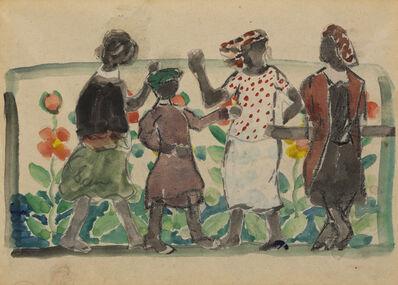 Charles Prendergast, 'Frieze of Figures, Florida', 1946-1947