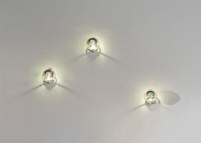 Venini, 'Set of three 'Grata' wall lights'
