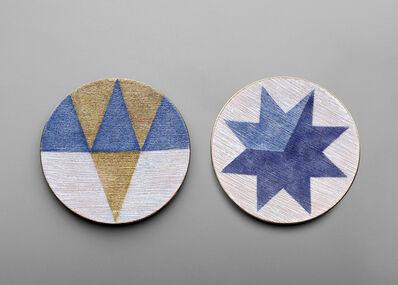 Gio Ponti, 'Two plates', circa 1957
