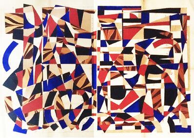 Hormazd Narielwalla, 'Geometrical Garden -Majorelle Study', 2020