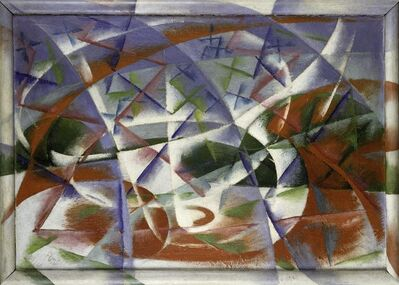 Giacomo Balla, 'Abstract Speed + Sound (Velocità astratta + rumore)', 1913-1914
