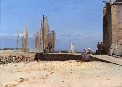 Dennis Miller Bunker, 'Larmor', 1884