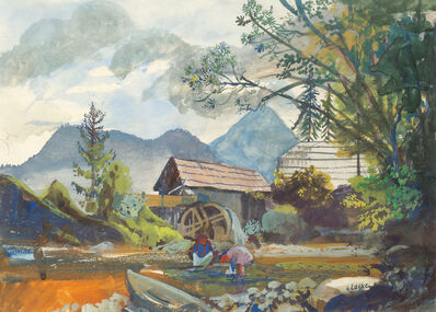 Oskar Laske, 'Hinterstoder', 1948