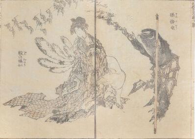 Katsushika Hokusai, 'Nine Tale Fox and Songoku', 1815