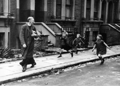 Bert Hardy, 'East End Parson, 1940', 1940