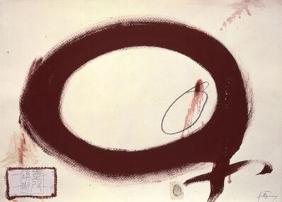 Antoni Tàpies, 'Cercle rogenc / Reddish Circle', 2004