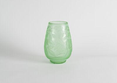 Daum, 'Incised Art Deco Vase', Early 20th Century