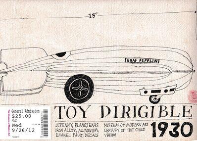 Victoria Behm, 'Toy Dirigible', 2012
