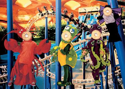 Jeff Koons, 'Bluepoles', 2000