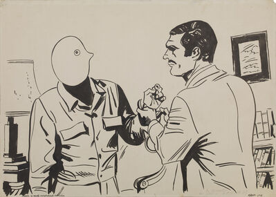 Eduardo Arroyo, 'El Arresto Del Estudiante Julio Lopez', 1968