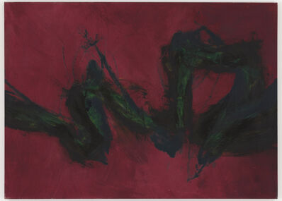 Cleve Gray, 'Plumed Purple of Thunder', 1991