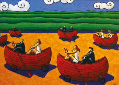 Jacques Tange, 'Life Boats', 2013