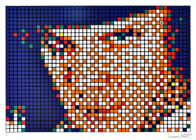 Invader, 'Rubik Kubrick I - Alex (Signed Edition)', 2006