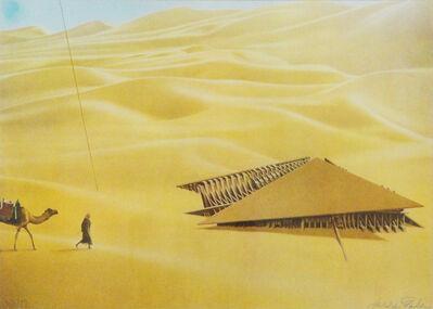 Arnaldo Pomodoro, 'A fortress-tent for a desert', 1980