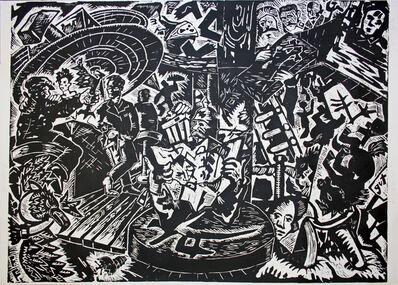 Jörg Immendorff, 'Café Deutschland Gut', 1982