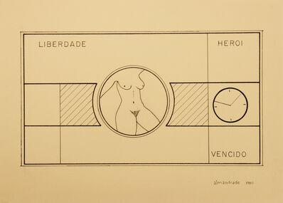 Almandrade, 'Untitled - Visual Poem', 1980
