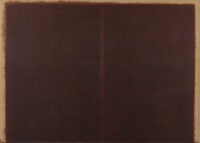 Yun Hyong-keun, 'Burnt Umber & Ultramarine', 1987