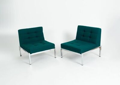Joseph-André Motte, 'Pair of Samourai Lounge Chairs', ca. 1970