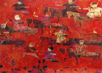 Reza Derakshani, 'Red Hunt', 2019