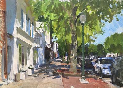 Marc Dalessio, 'East Hampton Street Scene', 2019
