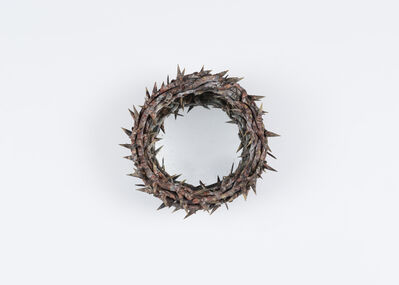 Onik Agaronyan, 'Mirror in the Shape of a Crown of Thorns', 2017