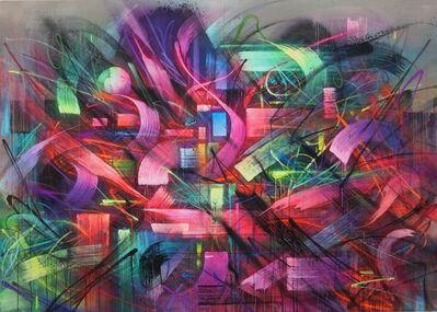 Saber, 'Refulgent', 2016