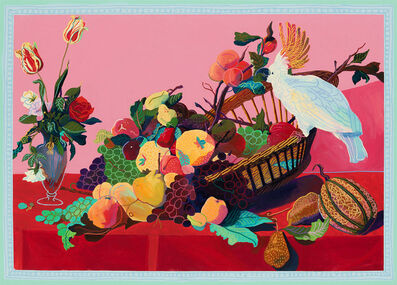 Andy Dixon, 'Still Life With Parrot Painting', 2018