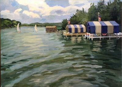 Virginia Marie Ferrara, 'Walloon Boat Houses', 2017
