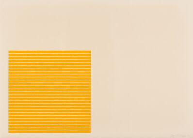 Frank Stella, 'Palmito Ranch, from Benjamin Moore series', 1971