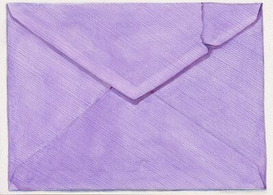 Margot Glass, 'Violet Envelope', 2021