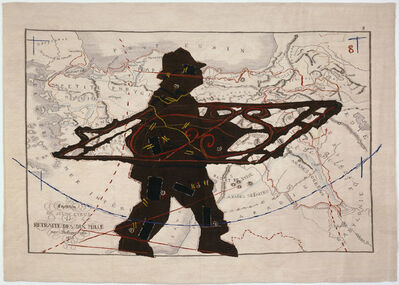 William Kentridge, 'Porter Series: Expedition de Jeune Cyrus et retraite des dix mille (with Wrought Iron)', 2006-2007