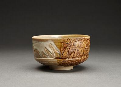 Miraku Kamei XV, 'Tea bowl (chawan), Old Takatori style with kakewake'