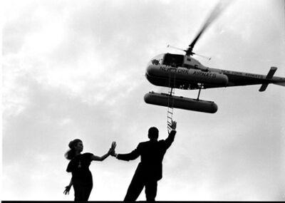 Bert Stern, 'Rooftop, VOGUE', 1961