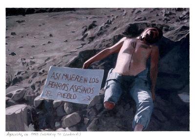 Miguel Aguirre, 'Ayacucho, ca. 1983 (according to Lombardi) – III', 2009