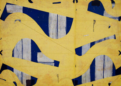 Caio Fonseca, 'Three String Etching, Giallo', 2006