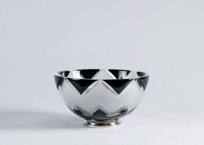 "Cristal Benito, '""Basile,"" Contemporary Hand-Cut Crystal Bowl', France-2018"