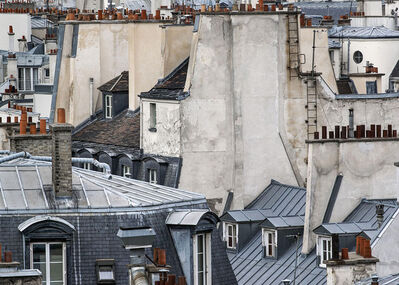 Michael Wolf (b. 1954), 'Paris Rooftops 12', 2014